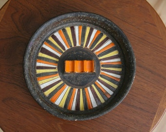Rosenthal Netter Mid Century Modern Italian Pottery Ashtray Italy Bitossi Raymor