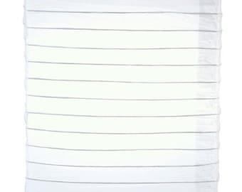 White Hako Paper Lantern - 8HKO-WH