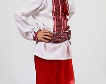 Ukrainian traditional trousers(Sharovary) for boys and men: Best price!