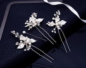 Bridal Hair Clip, Crystal Comb, Wedding Comb, Bridal Comb, Wedding Headband, Pearl Hair Comb, Rhinestone Hair Clip, Rhinestone Comb