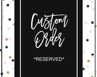 Custom Styled Stock Photography/ Custom Mockup / RESERVED