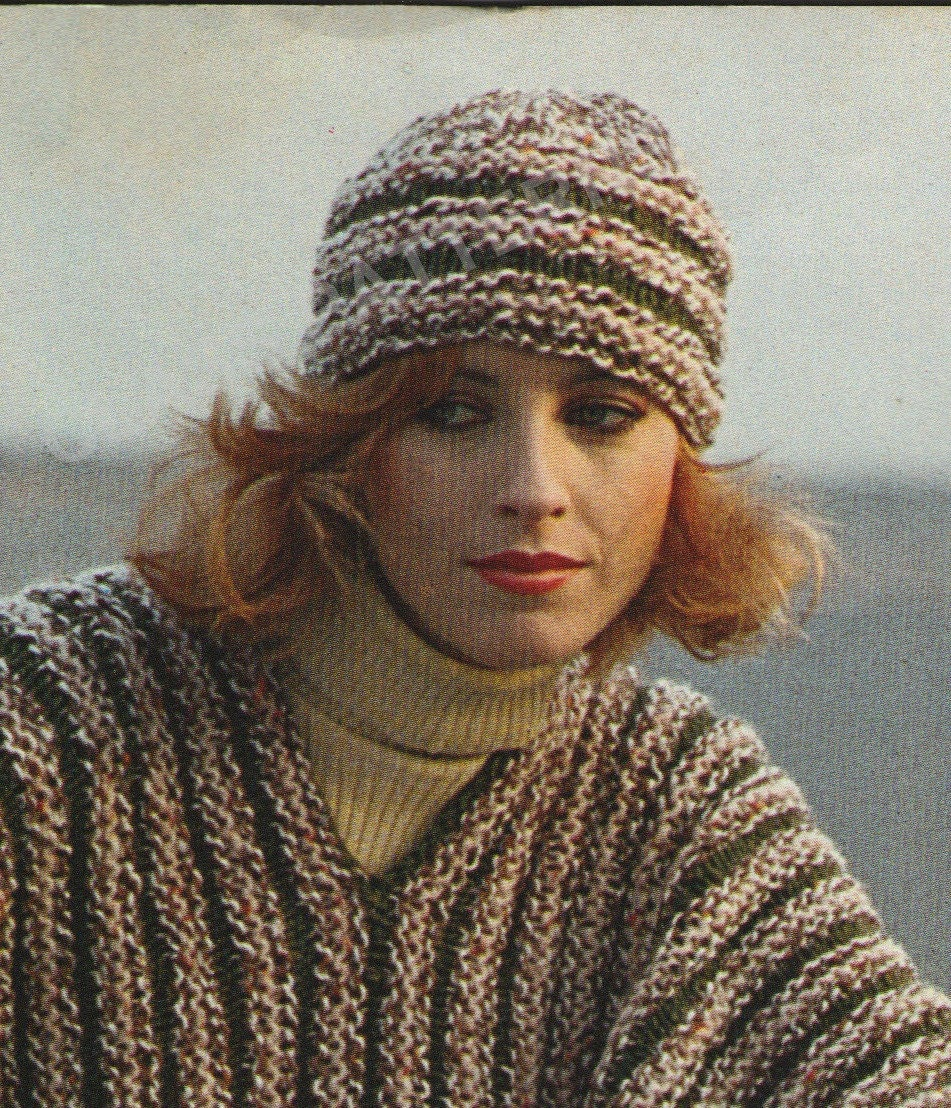 Poncho cape pattern knitting pattern poncho pattern hat and this is a digital file bankloansurffo Choice Image