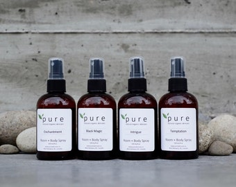 Natural Room & Body Spray
