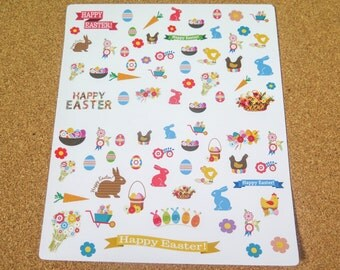 Easter Stickers! Perfect for the Erin Condren, Limelife, Plum Paper, Kikki Planners and Happy Planners!