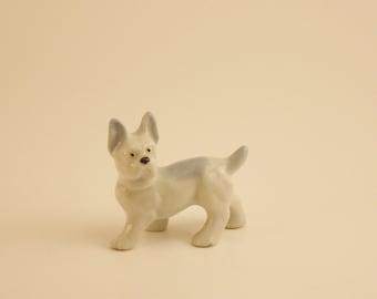 Vintage Dog Figurine, Made in Japan