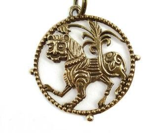 Slavic lion