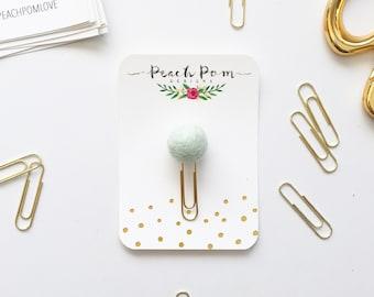 Pom Paper Clip- Mint