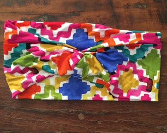 Jigsaw Headband (LAST CHANCE)