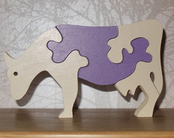 A Cow's life, jigsaw, toy, ornament