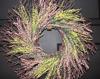 Summer Wreath, Twig Wreath