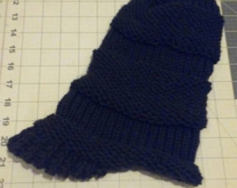 Slouchy hat with visor