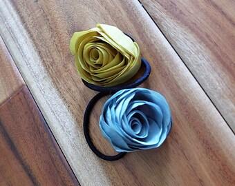 Rose hair band/ hair tie