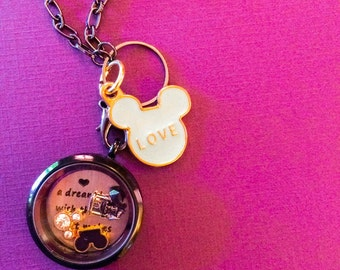Clearance: A wish your heart makes - charm locket