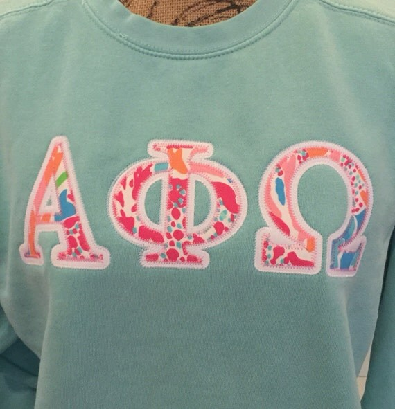 lilly pulitzer greek letters lilly pulitzer letter appliqué note by 23448 | il 570xN.864591276 s6iz