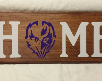 Raven HOME Wall Sign
