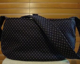 Little Dog Carrier Sling Bag- Navy Blue