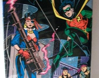 1991 Batman #467 Robin On Cover Shadow Box Pt 1 VG-VF Vintage DC Comic Book