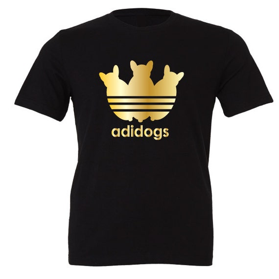 Adidogs adidas parody T-Shirt. Special Edition. Animal Pet Dog shirt. Xmas, Christmas Present. Unisex adult tshirts for men and women