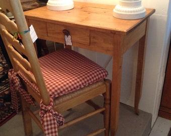 Antike Frühen Französischen Rustikalen Kiefer Tisch Schreibtisch Mit  Schublade