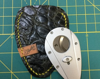 Leather xikar cutter case, leather case, Cigar cutter case, Cigar accessories, Cigar lovers gift
