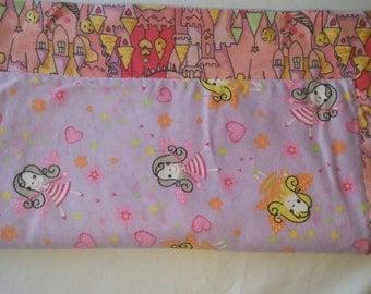 Fairy Castle Baby Blanket