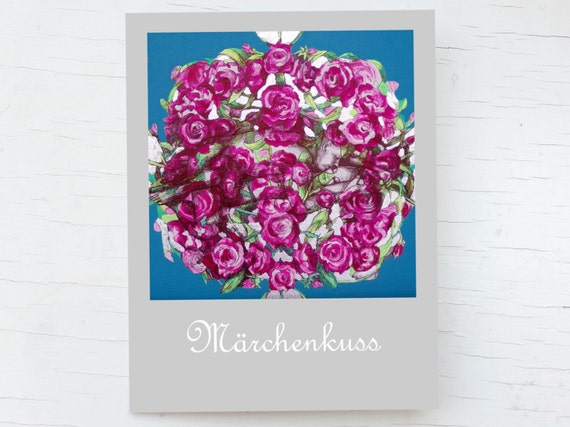 Wedding congrats kiss, loving couple, card pink flowers, greeting card kiss, card sleeping beauty, wedding card congratulations pink, kiss
