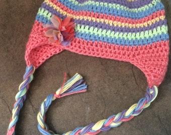 Colorful Earflap Hat