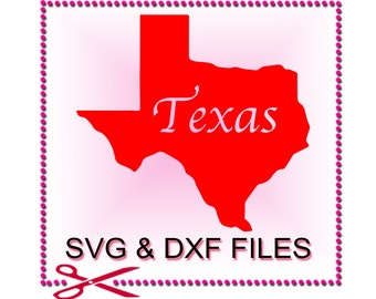 Texas Clipart for SVG Files Cutting Western Cricut Designs - SVG Files for Silhouette - Instant Download
