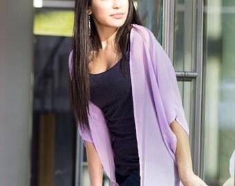 Lavender Kimono Cardigan