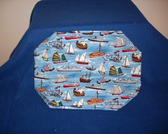 Fleet of Boats Placemats