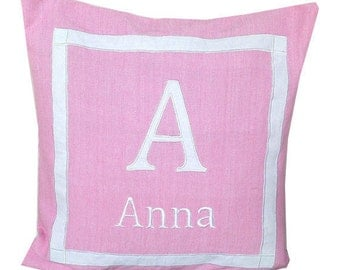 30% OFF Unique Baby Gifts, Baby pillows personalized, Monogram Children Throw Pillows, Baby Shower Gifts, Monogram Kids Room Decor, 20x20