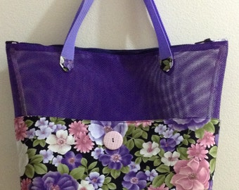 Purple Screen Tote