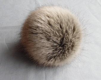 Size XL faux fur pom pom 5.5 inches/ 14cm