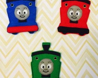Train Finger Puppets