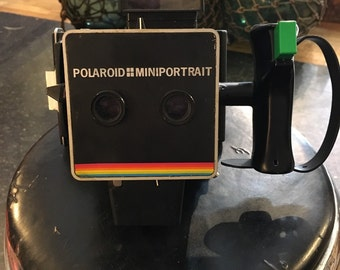 Polaroid mini portrait