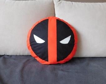 Deadpool pillow, deadpool plush, geek plush, geek pillow