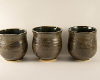 Set of 3 Ceramic Tea Bowls