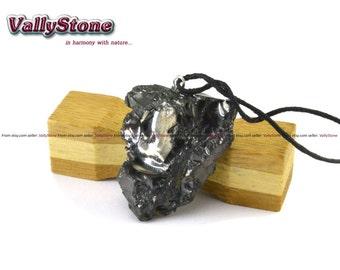 "Genuine Shungite Pendant ""Elite shungite"". Rare shungites health stone"