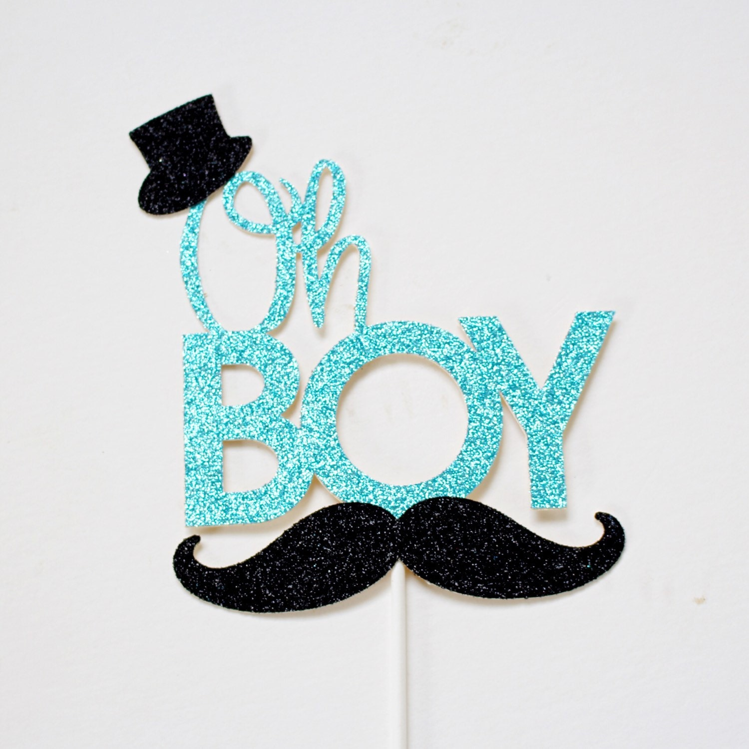 It S A Boy Mustache Theme Cake