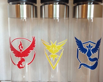 Pokemon GO Water Bottle, Tumbler or Skinny Tumbler - choose your color!  SHIP 24 HOURS!