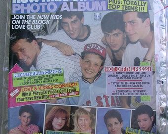 TWO (different) New Kids on the Block magazines