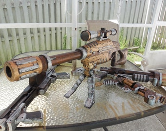 Steampunk TOY sniper rifle prop