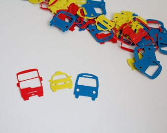 Tayo the Little Bus inspired Confetti