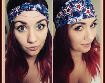 Patriotic Stars Headband