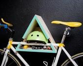 Turquoise - Triangle Bike Rack
