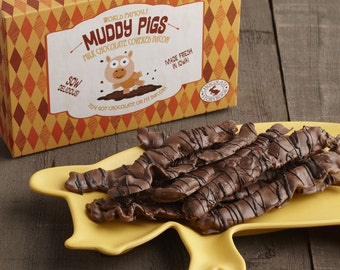 Muddy Pigs - Chocolate Covered Bacon