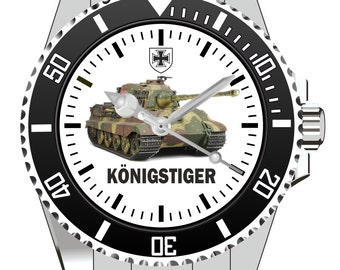 King Tiger tank watch 1090 KIESENBERG®