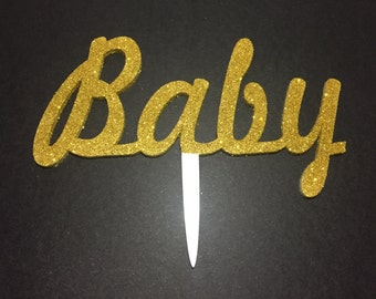 Acrylic Baby Shower Cake Topper