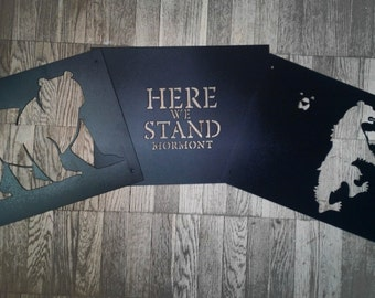 game of thrones house mormont of bear isle sigil here we. Black Bedroom Furniture Sets. Home Design Ideas