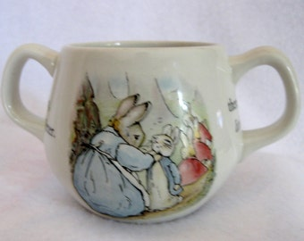 Wedgwood childs cup Peter Rabbit  made in England china porcelain